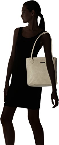 Louise Tamaris a Donna Light Grigio Shopping secchiello Grey Borse Bag TUZqndUwxB