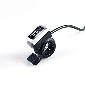 31rvvWlT7ML. SS300 Ebike - Kit di controllo della velocità dell'acceleratore, 36 V, display a LED, indicatore di carica della batteria per…