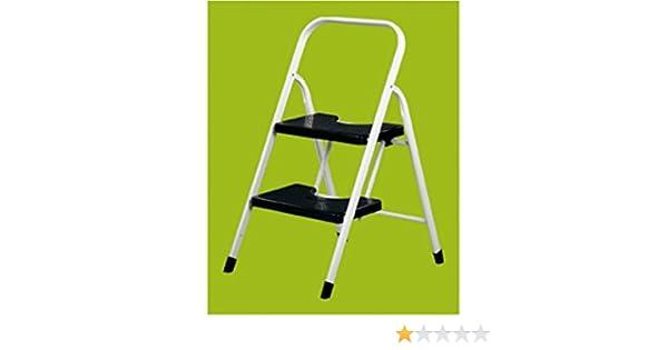 Vervi - Escalera 2 peldaños con barandilla: Amazon.es: Bricolaje y herramientas