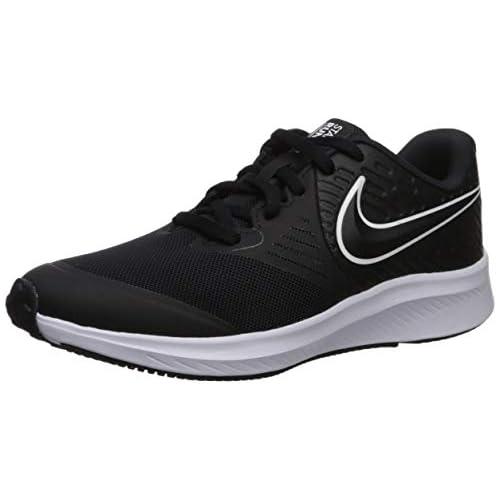 chollos oferta descuentos barato NIKE Star Runner 2 GS Zapatillas Unisex Adulto Negro Black White Black Volt 001 40
