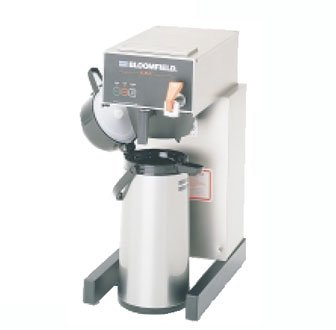 Bloomfield 1082AF E.B.C Electronic Airpot Brewer, Pour-Over Option, Faucet, 17″ Depth, 10″ Width, 21 1/2″ Height