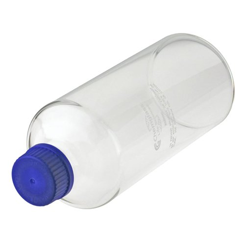 Chemglass CLS-1190-01  Series CLS-1190 Roller Bottle with GL-45 Solid Cap, 110 mm OD, 570 mm Length, Glass
