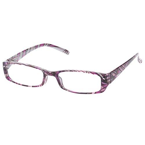 MLC Eyewear ® 'Brion' Rectangle Reading Glasses +2.00 in - Eyewear Miumiu