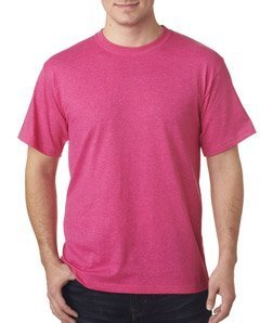 Fruit of the Loom Men's Short Sleeve Crew Tee, X-Large  - Retro Hth - Color Crew Loom