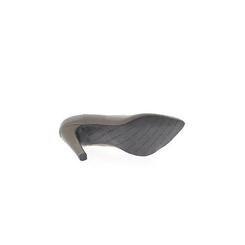 Escarpins Taille Cm Grande À Gris Pointus Talon 12 De PrPwqO5