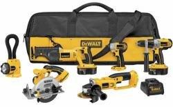 DEWALT DCK655 X 18-Volt XRP 6 Tool Combo Kit with Impact Driver