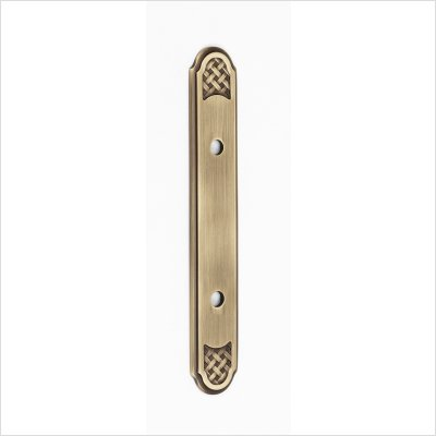 Alno A1488-35-AP Classic Weave Suite Pull Cabinet Backplate