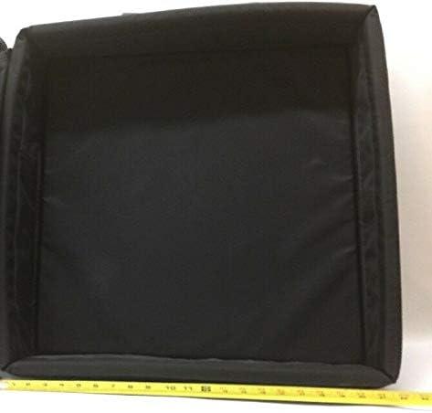 Capacity Base Plate Bag 5314 Black 42-lb