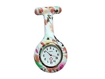 HSDDA Colgante Enfermera Reloj Unisex Reloj Enfermeras Gel de Silicona Reloj de Bolsillo Doctor Relojes de Bolsillo: Amazon.es: Electrónica