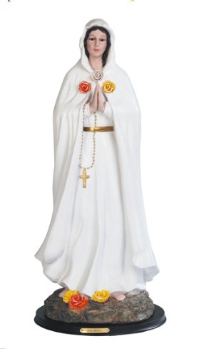 24 Inch Rosa Mistica Mystica Catholic Statue Figurine Figure Religious Mary Rose by GC