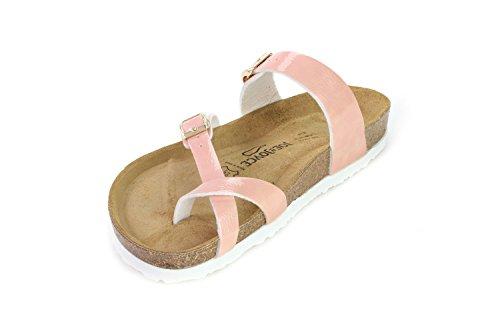 Sandals Softbedded JOYCE N Milano Slippers Women Rose Cork JOE qcC4aAxIww