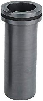 Dumadf Graphittiegel-Doppelring, Labormetallschmelzguss für die Gold-Silber-Kupfer-Raffination-3kg