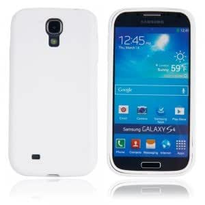 TPU Protective Case with PC Front Cover for Samsung S4/i9500 White