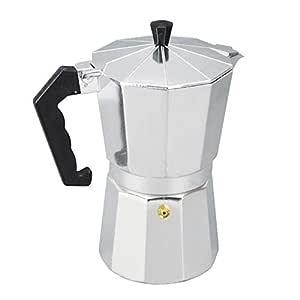 1pc Cafetera de Aluminio Moka Cafetera Italiana Olla de Olla ...