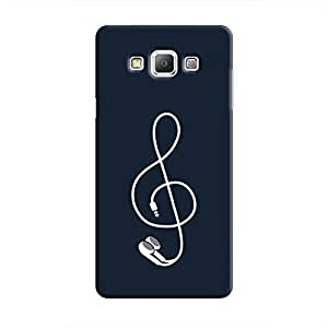 Cover It Up - Music Bud Galaxy A8 Hard Case