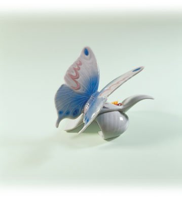 Lladro Morning Calm 06589 Butterfly