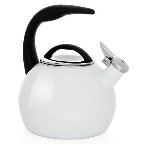 Chantal 37-ANN WT Tea Kettle, 2 Quart, Glossy White