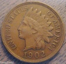 1902 VG Indian Head Penny (1902 Indian Head Penny compare prices)