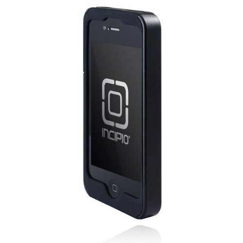 Incipio SILICRYLIC Case for iPhone 4 (Black/Black) (Fits AT&T iPhone)