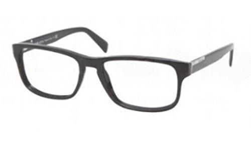 Prada Eyeglasses VPR 07P BLACK 1AB-1O1 - Men For Prada Shades