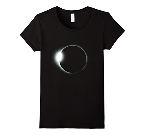 Space Needle Costume (Womens Solar Eclipse Halloween Costume | Solar Eclipse Wear Shirt Small Black)