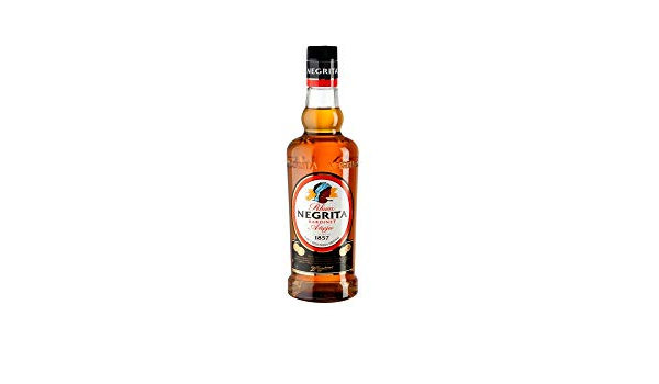 Ron Negrita 70 Cl cristal: Amazon.es: Alimentación y bebidas