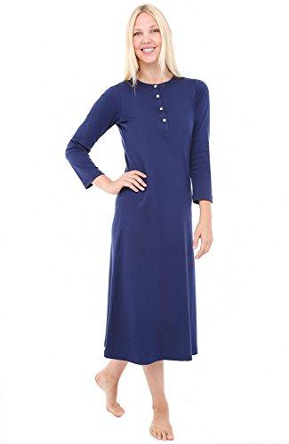 Del Rossa Womens Cotton Nightgown