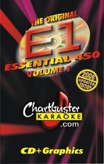 Chartbuster Essential 450 Collection Vol. 1 CD+G Pack - Chartbuster Essential 450 Collection