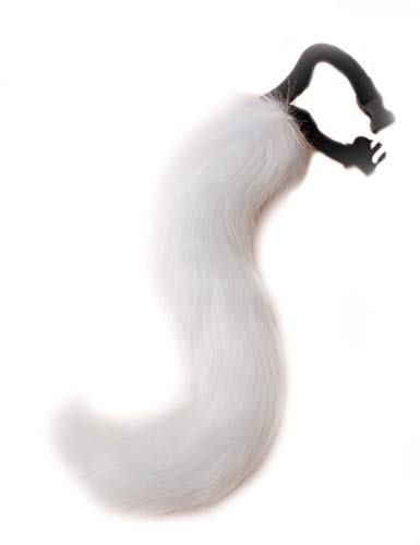 DRESHOW Fox Fur Tail Cosplay Costume Party Super Huge Fluffy Tail for Teen Adult