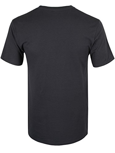 Adventure Time Herren T-Shirt Great Wave grau