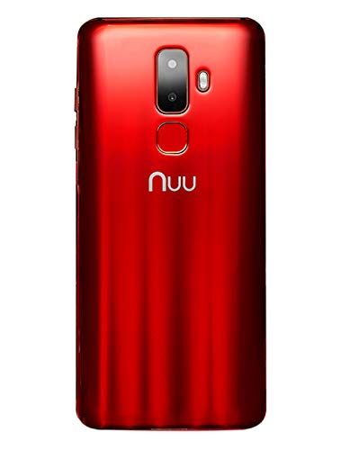 Unlocked Red Smartphone (NUU Mobile G3 Unlocked 64GB - Ruby Red)