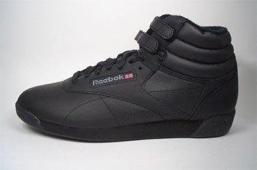 Reebok Freestyle Hi 2240 Schwarz Größe Euro 35,5 / US 5,5 / UK 3 / 22,5 cm