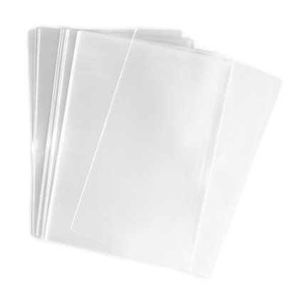 Affluence 100x Clear Flat Cello/Cellophane Treat Bag 4x6 inch(1.2mil) Gift Basket Supplies