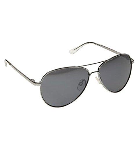 Silver Mirrored Kids Aviator Sunglasses - UV 400 Shatterproof Lense Polycarbonate
