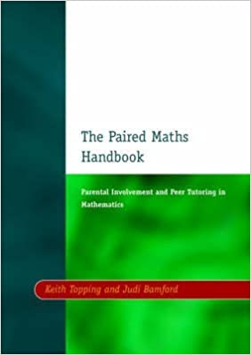Book Paired Maths Handbook. David Fulton Publishers . 1998.
