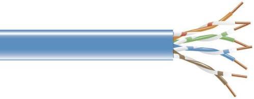 Spool Blue CAT5e 200-MHz Solid Bulk Cable UTP cm Black Box 1000-ft