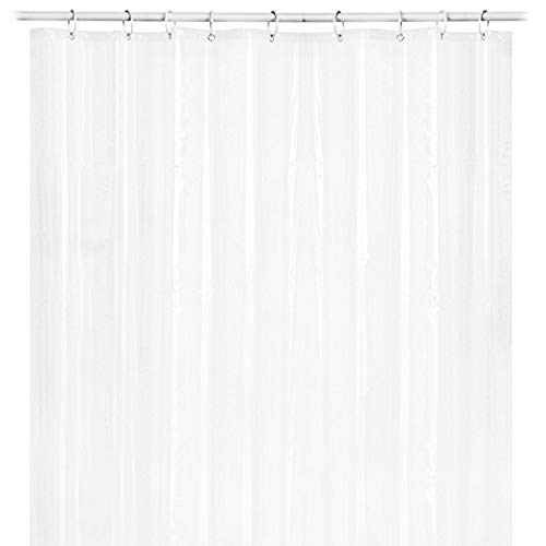 Bath Shower Curtain Liner Clear Non Toxic Mold Resistant Waterproof Bathroom O by Sannysis