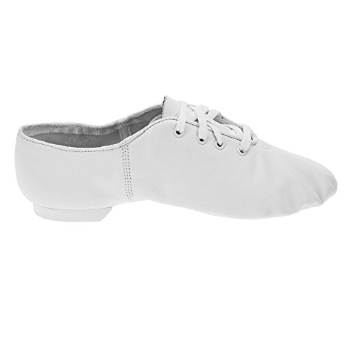 White Jazz Shoes Sole Split CG02 BRCx6gqq