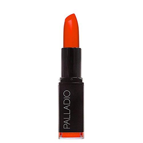 Palladio Herbal Matte Lipstick, Coral, Creamy and Full Coverage Long Lasting Matte Lipstick (L Oreal Color Riche Lipstick Tropical Coral)