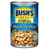 Bush's Blackeye Peas, 16 oz (Pack of 6)