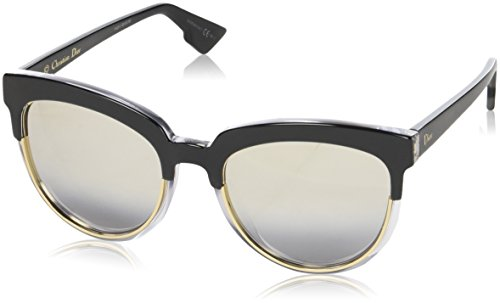 Dior Women CD SIGHT1 54 Black/Silver Sunglasses - Dior Sun