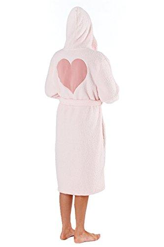 Selena Secrets - Pijama - Manga Larga - para mujer Pink - Robe