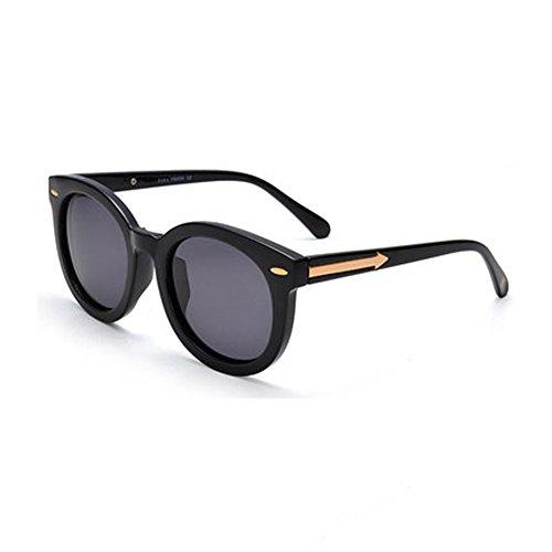 soleil rond lunettes C de lunettes visage rétro de de polariseur rétro conduite confortable Tide Polarized Lady verres Lunettes soleil Hommes vxHRRz0