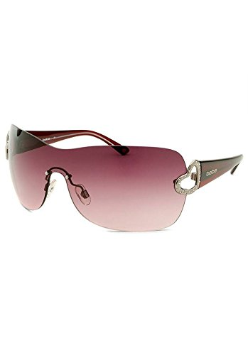 BEBE Women's Affectionate Shield Burgundy - Bebe Sunglasses