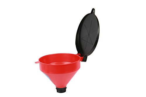 - WirthCo 32425 Funnel King Propylene Drum Funnel with Lockable Lid - 4 Quart Capacity