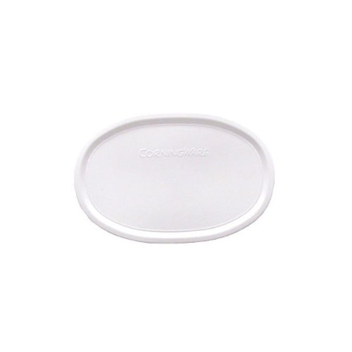 CORNINGWARE French White 23-oz Oval Plastic Cover
