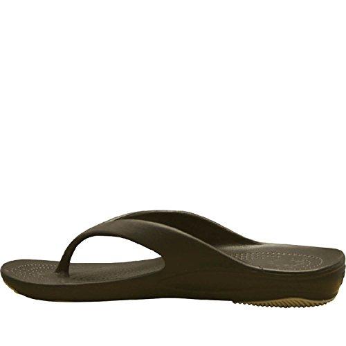 Dawgs Kvinners Premium Flip Flop Mørk Brun / Tan