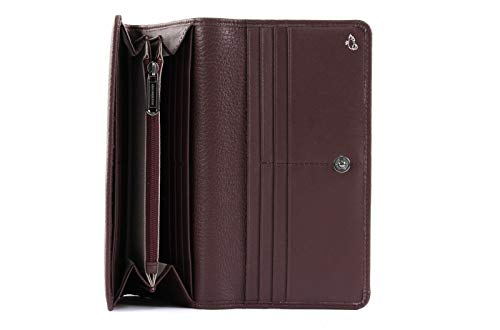 Purse Vineyard Duck L Leather Wine Mellow Mandarina wqFfXIT