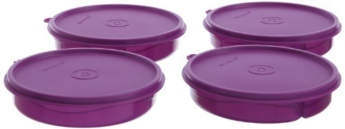 Tupperware Kids Divided Dish Set, 350Ml, Set Of 4 (191)