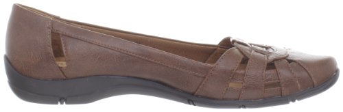 Lifestride Womens District 2 Flat Medium Brown